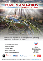 Work Related Learning - 'Power Generation' - Contact us for more info